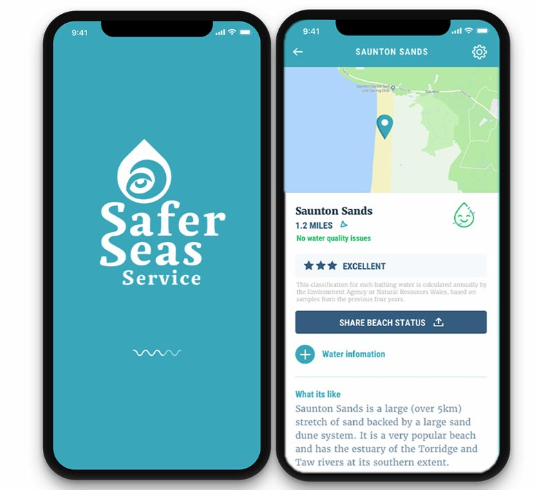 Safer Seas Service App