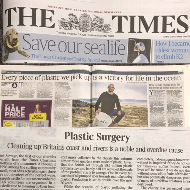 Lifestyle Articles: The Times Newspaper Picks Surfers Against Sewage For