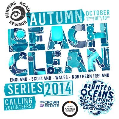 Autumn Beach Clean Series