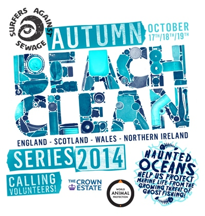 Autumn Beach Clean Series