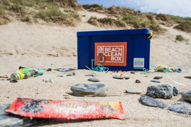 SAS Beach Clean Box