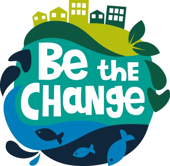 Be the Change logo