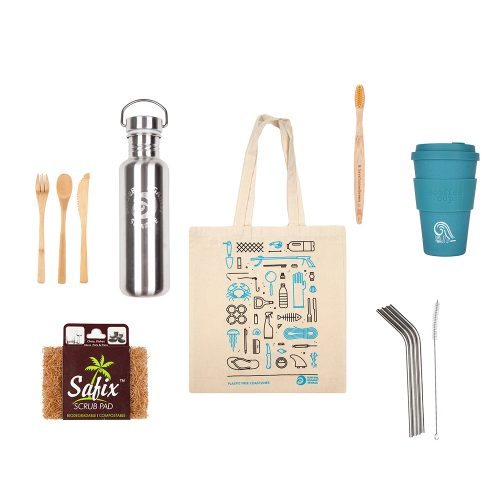 Bundle of plastic free objects