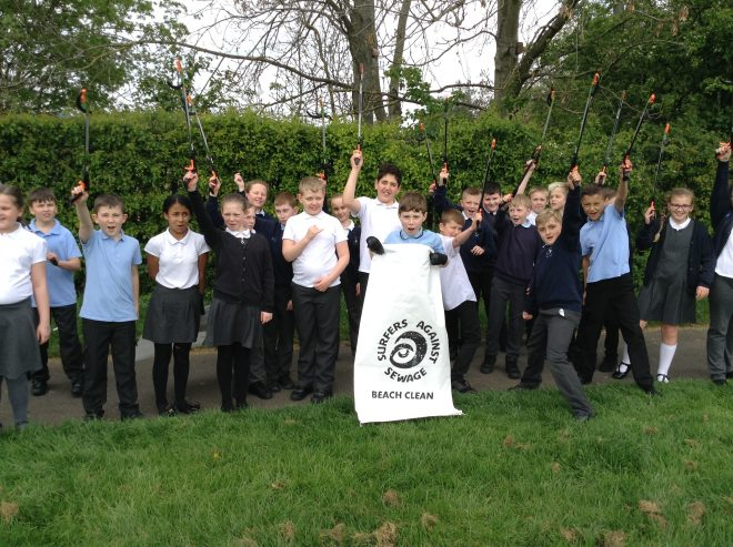 Lingey House Primary School Taking Action