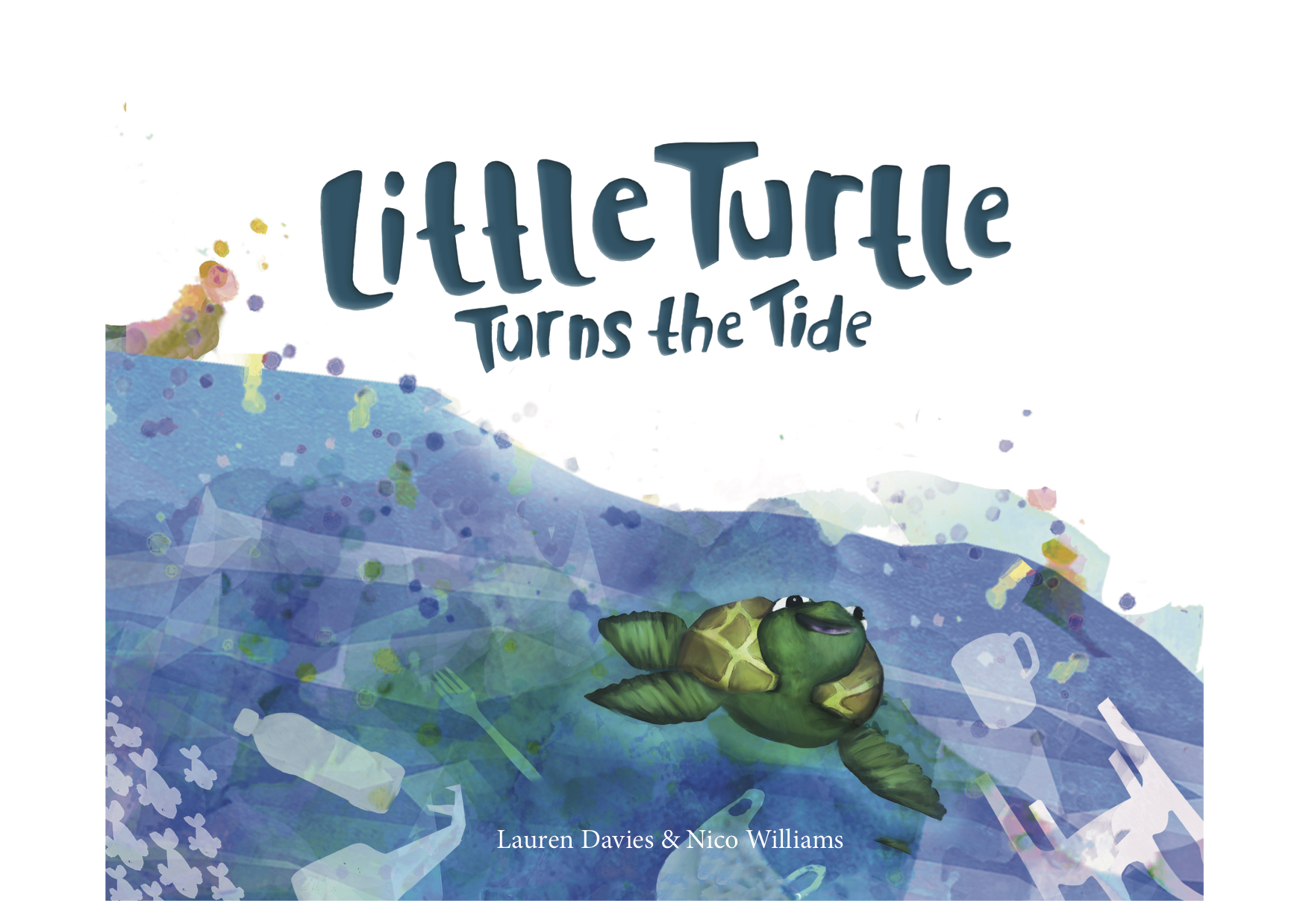 Little turtle turns the tide cover