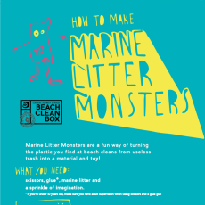 Marine litter monsters