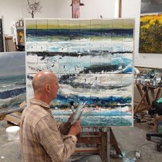 Kurt Jackson creates two special commissions in support of Surfers Against Sewage.