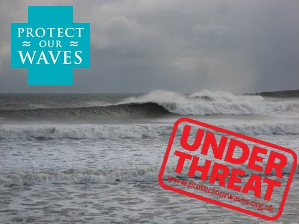 Nigh Bay, Aberdeen home to 3 quality waves all threatened by new port facility