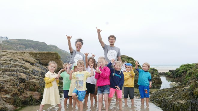 """ea86e4062 SAS and Parley joined forces this July and invited 15 schools to join us at  beaches across the South West. """""""