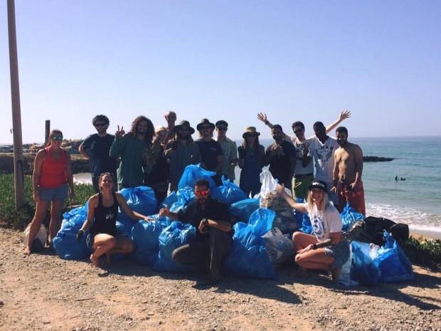 SAS International - Moroccan Beach Clean - Ffion, Morocco