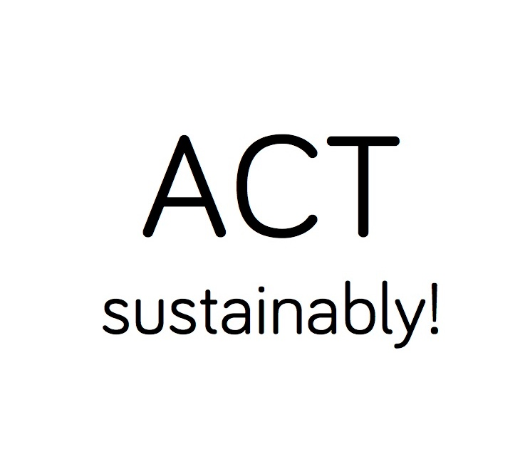 Act Sustainably