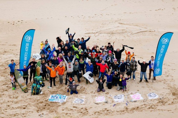 Surfers Against Sewage Beach Clean Perranporth