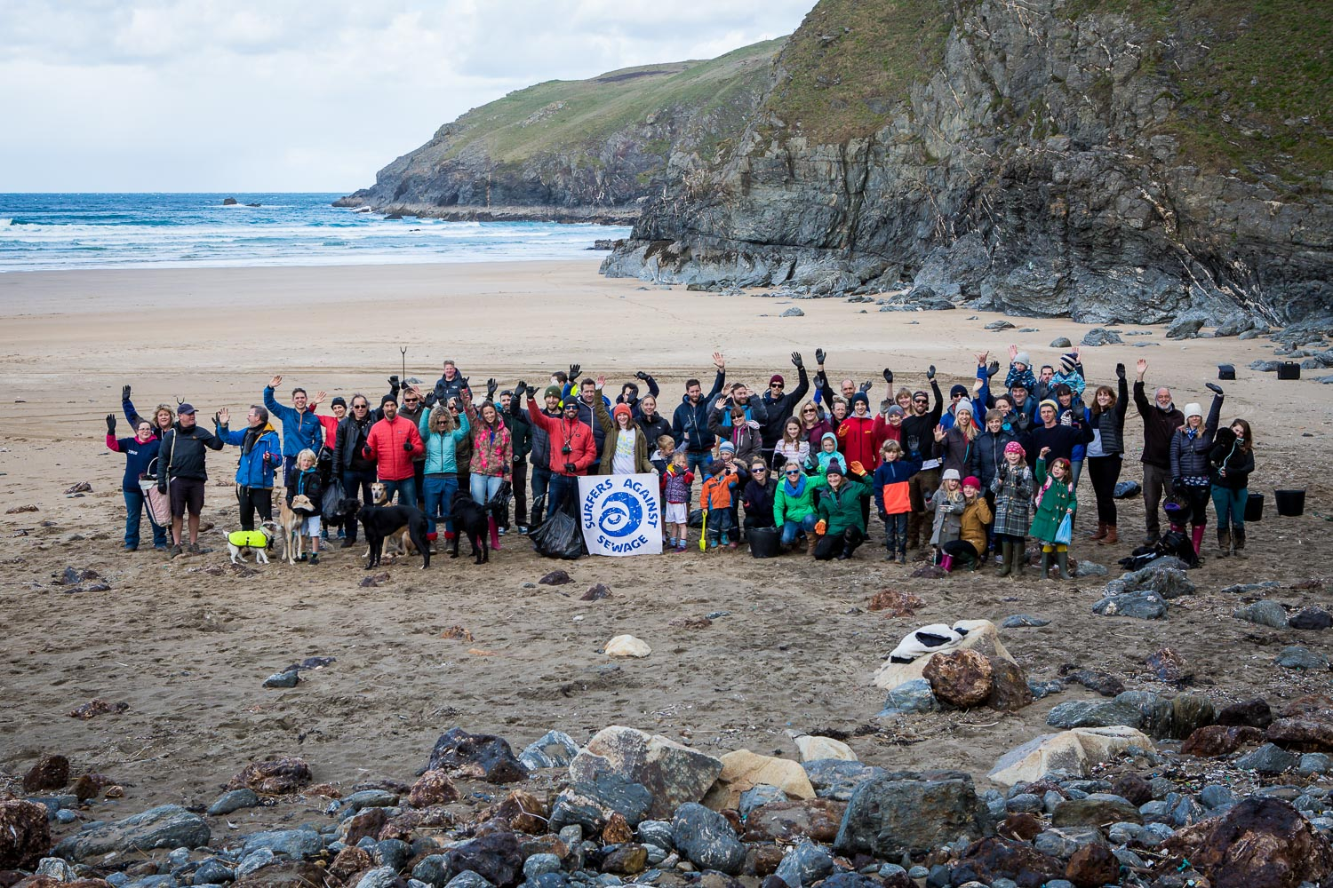 Community Beach Cleans and Volunteering