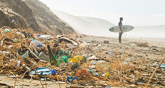 The Marine Litter Crisis.