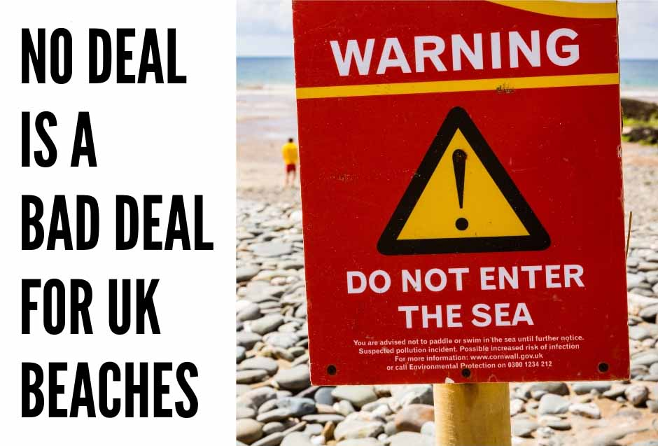 No Deal is a Bad Deal for UK Beaches