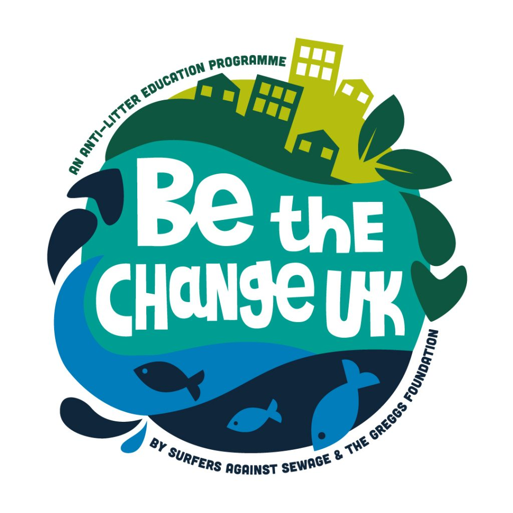 Get involved with our latest education programme:  Be The Change UK!