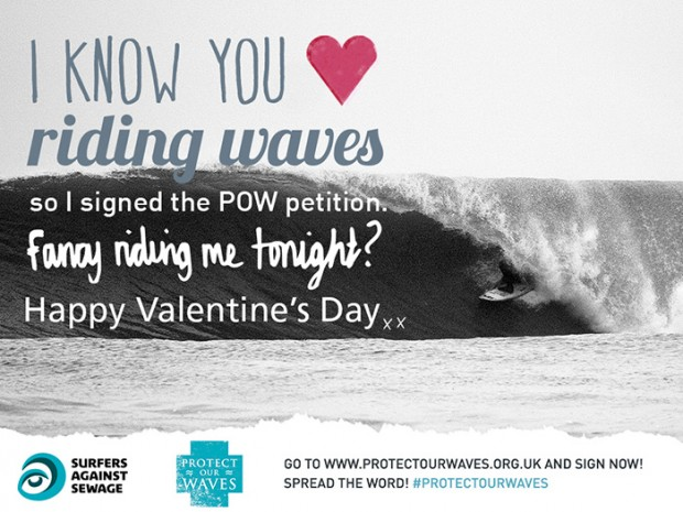 I know you love riding waves...