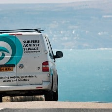 The SAS van in Cornwall