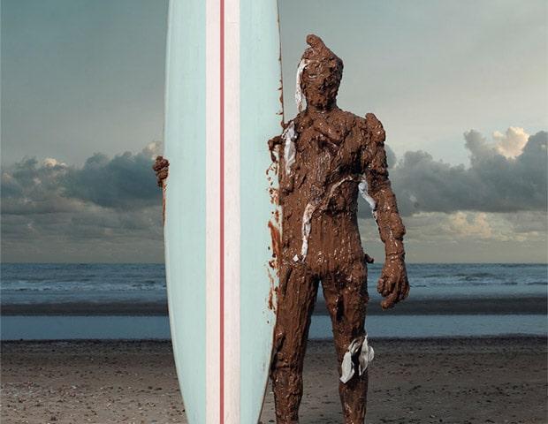 Sewage surfer