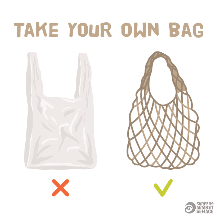 Take your own bag